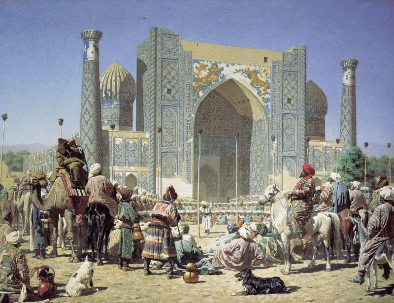 Triumph. 1872. Vasily Vereshchagin