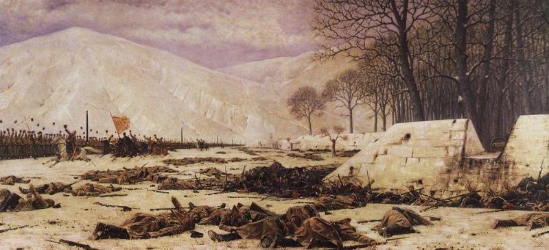 Shipka Sheinovo (Skobelev under Shipkov). 1883-1888. Vasily Vereshchagin