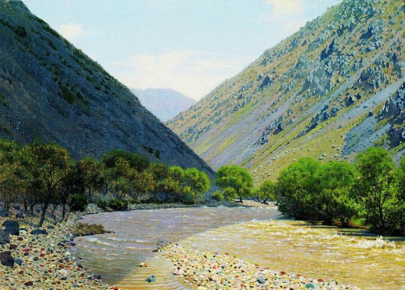 Passage Barskaun. Vasily Vereshchagin