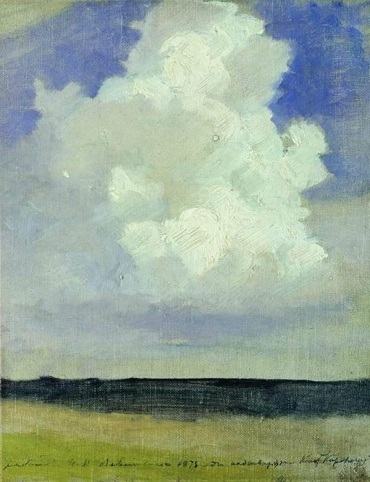 cloud. 1878. Isaac Ilyich Levitan