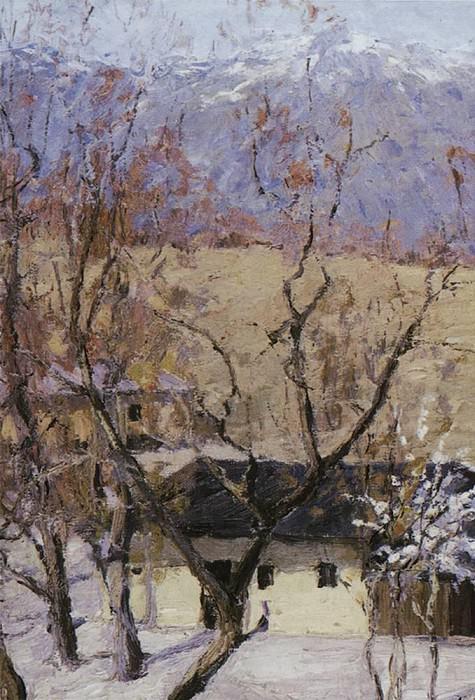 Winter in the Crimea. Isaac Ilyich Levitan