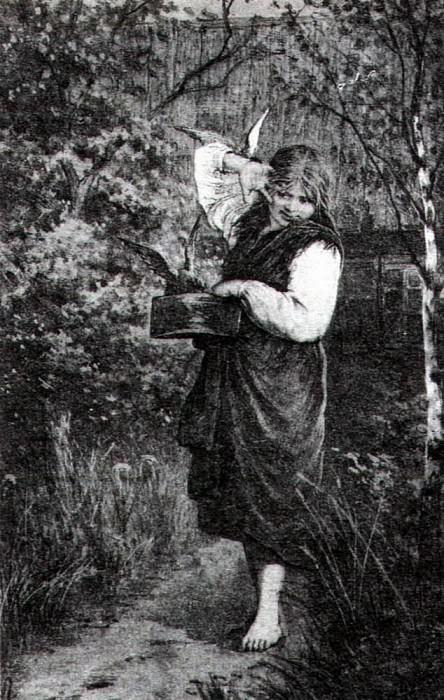 Любимцы. 1882. Исаак Ильич Левитан