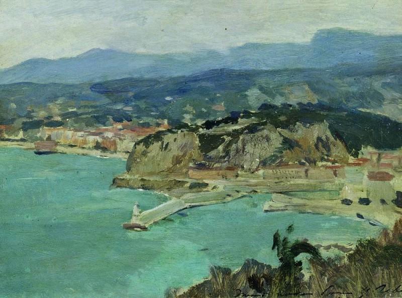 Lake Como. Italy. 1894. Isaac Ilyich Levitan