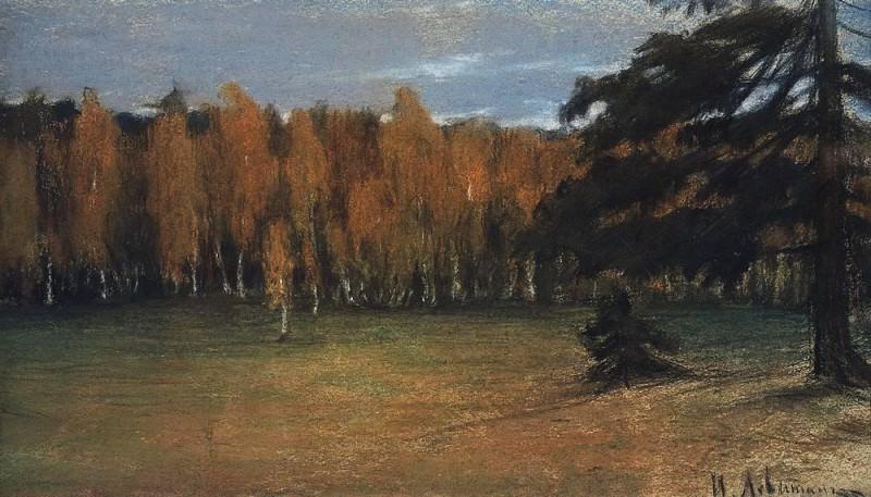 Осенний пейзаж2. 1890-е. Исаак Ильич Левитан