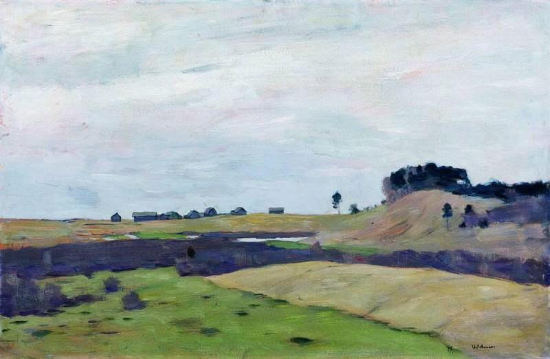 Fields 1. 1899. Isaac Ilyich Levitan