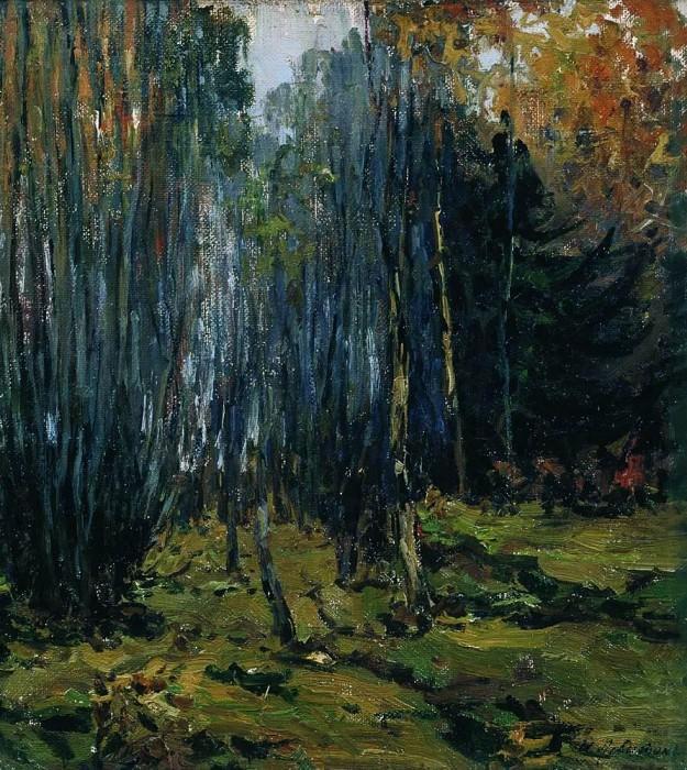 Autumn forest. 1899. Isaac Ilyich Levitan