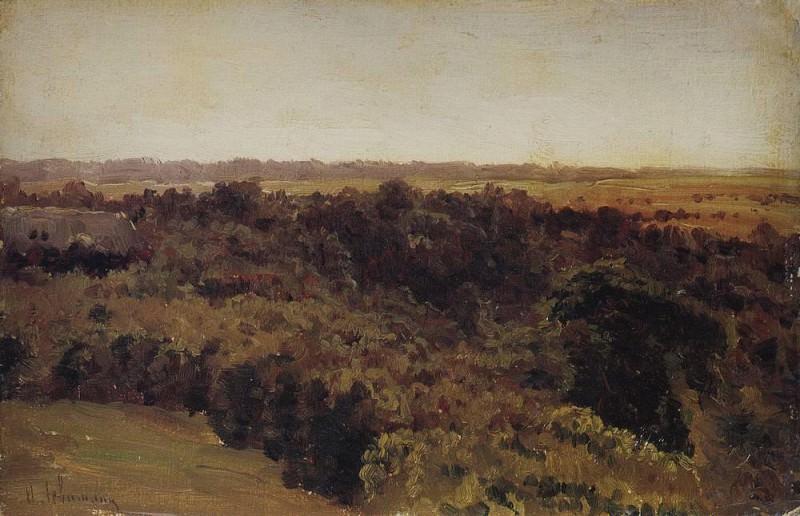 woods. 1880. Isaac Ilyich Levitan