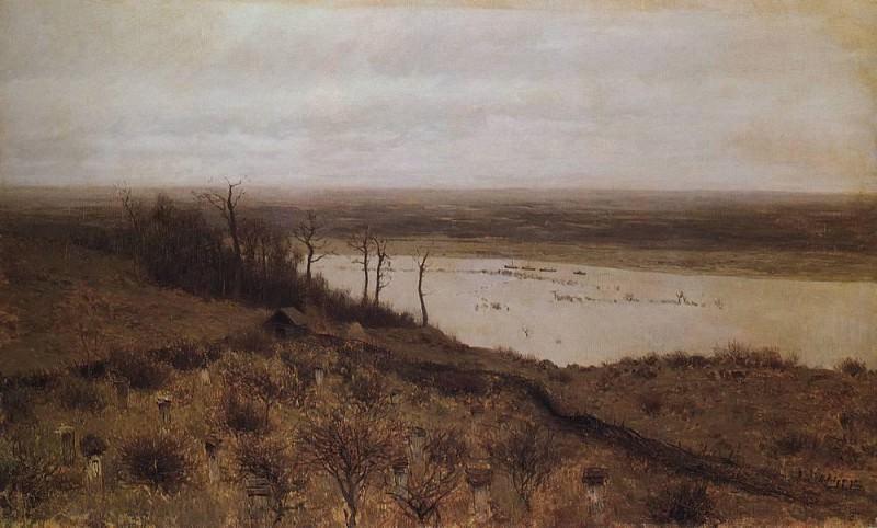 Spill at Sura. 1887. Isaac Ilyich Levitan