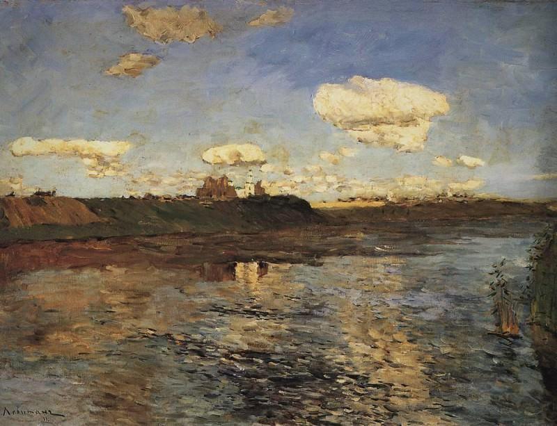 Lake 1. 1898-1899. Isaac Ilyich Levitan