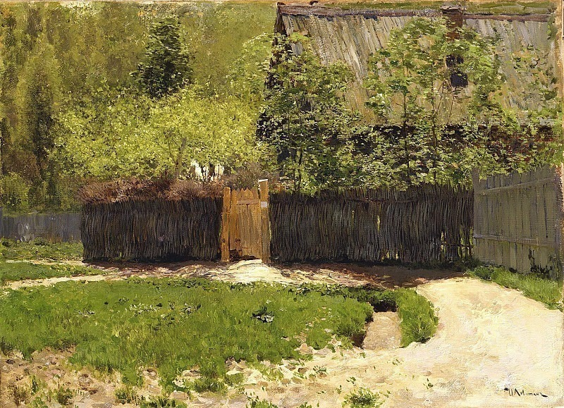 The first greens. May. Isaac Ilyich Levitan