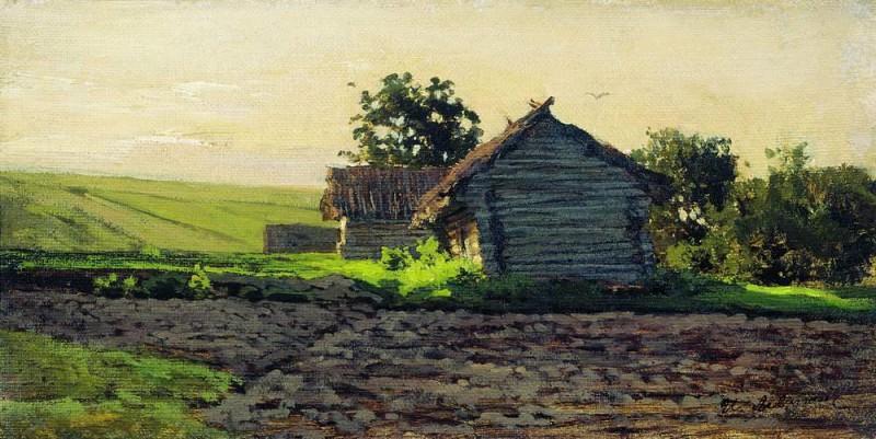 Savvinskaya settlement. 1884. Isaac Ilyich Levitan