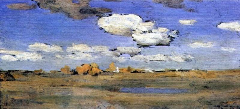 bright autumn day. 1898-1899. Isaac Ilyich Levitan