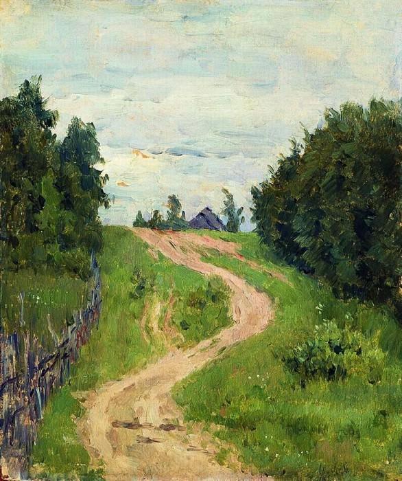 Track. 1890. Isaac Ilyich Levitan