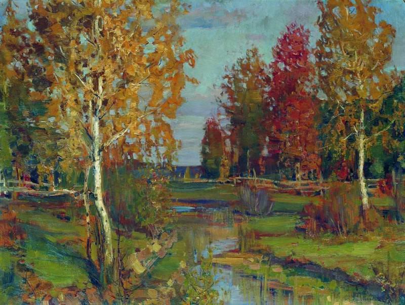 Autumn. 1890. Isaac Ilyich Levitan