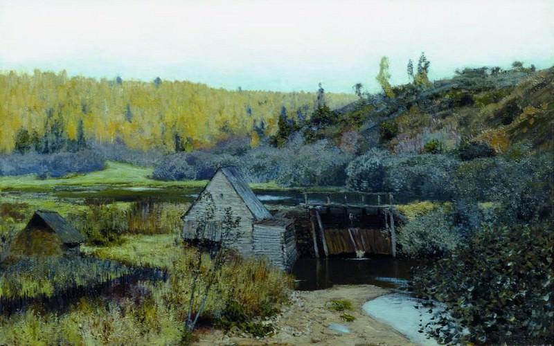 Осень. Мельница. Плёс. 1888. Исаак Ильич Левитан