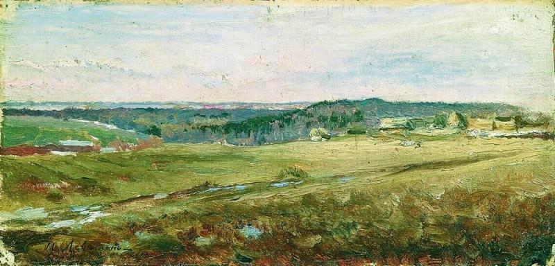 Field. 1890. Isaac Ilyich Levitan