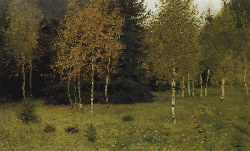 Autumn. 1889. Isaac Ilyich Levitan