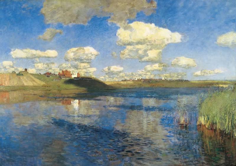 Lake. Russ. 1899-1900. Isaac Ilyich Levitan