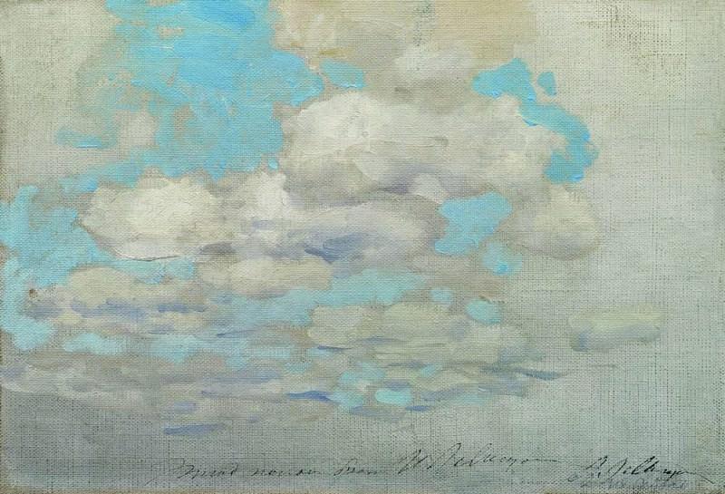 Clouds. 1890. Isaac Ilyich Levitan