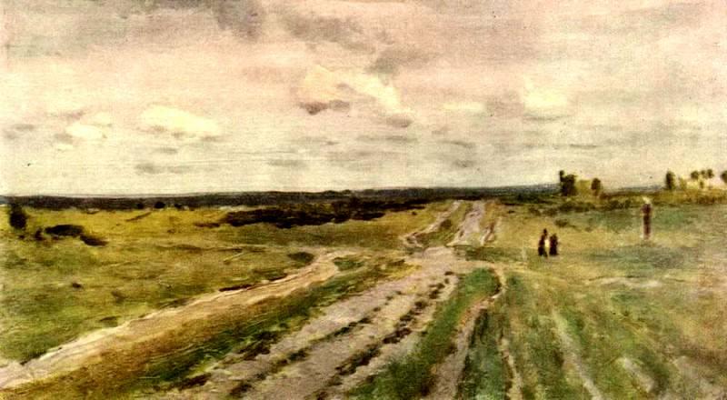 Vladimirka 1. 1892. Isaac Ilyich Levitan