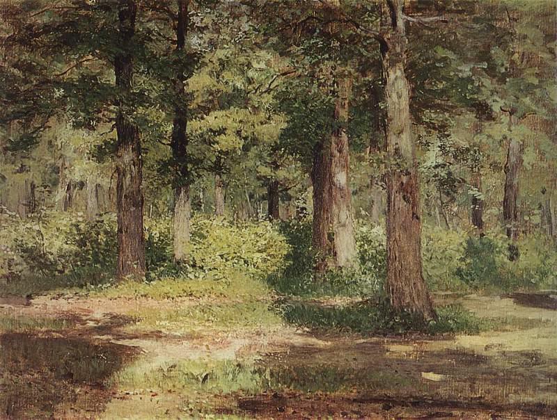 Лес. Солнечный день. . 1883-1884. Исаак Ильич Левитан