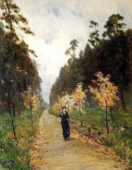 Autumn day. Sokolniki. Isaac Ilyich Levitan