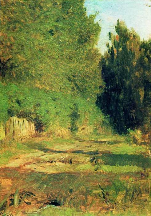V grove. 1890. Isaac Ilyich Levitan