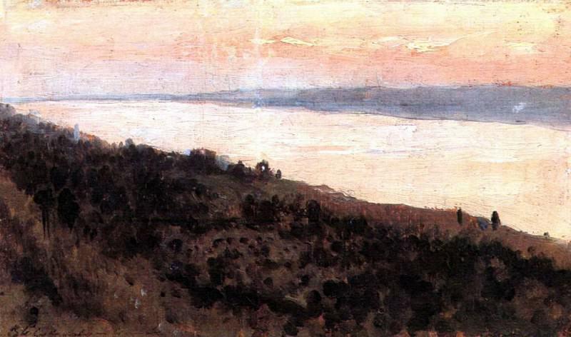Вечер. Золотой Плёс1. 1889. Исаак Ильич Левитан