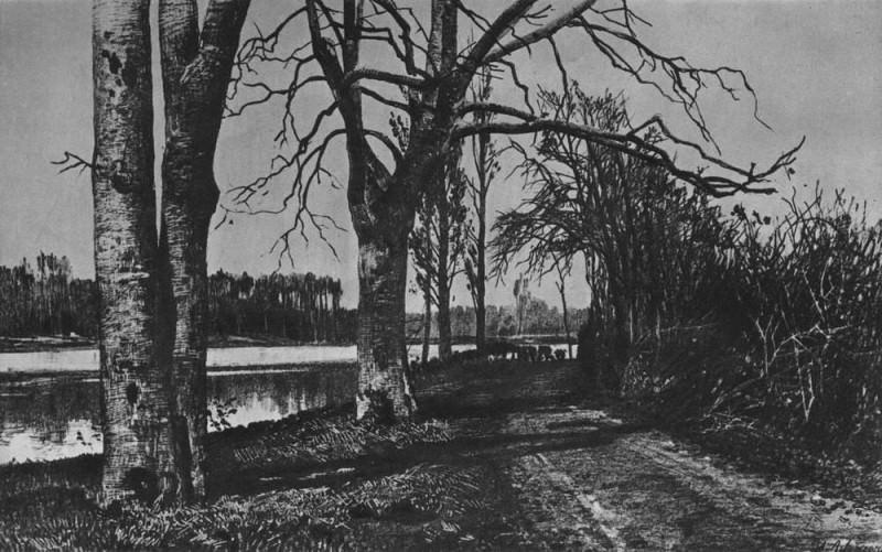 Autumn 2. 1885. Isaac Ilyich Levitan