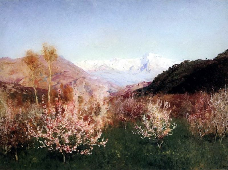 Spring in Italy 1. 1890. Isaac Ilyich Levitan