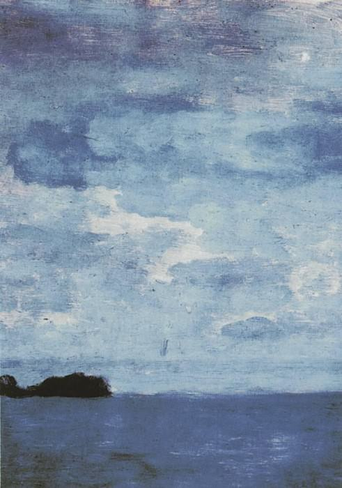 Sea. Finland. 1896. Isaac Ilyich Levitan