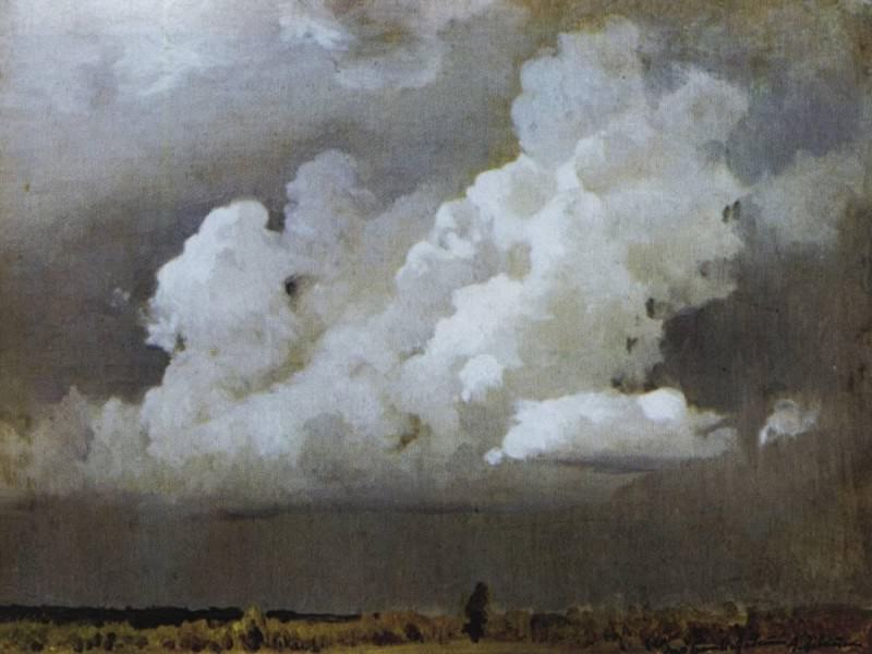 Before the storm. 1890. Isaac Ilyich Levitan