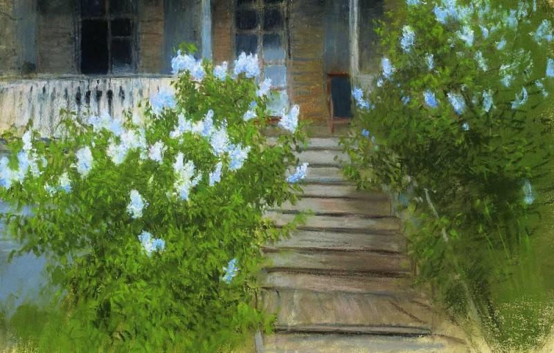 Весна. Белая сирень. 1890-е. Исаак Ильич Левитан