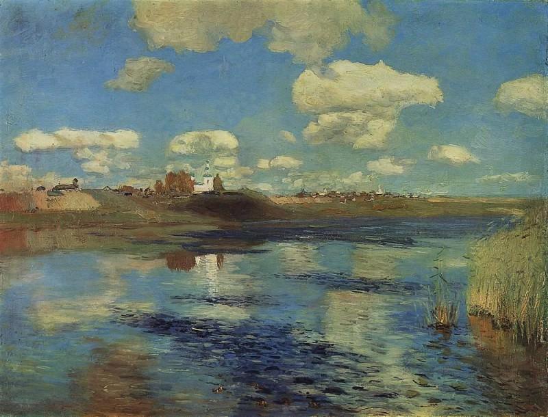 Озеро2. 1898-1899. Исаак Ильич Левитан