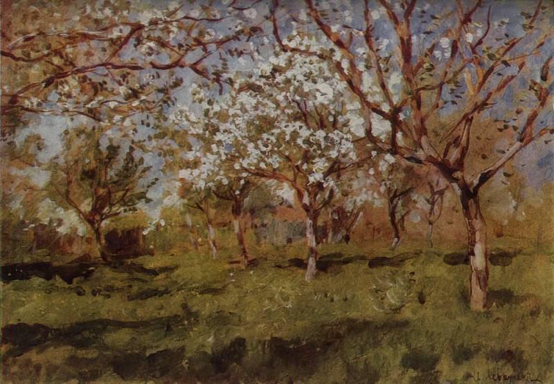 Fine arts 2. 1896. Isaac Ilyich Levitan