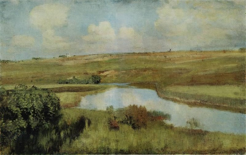 River. 1898-1899. Isaac Ilyich Levitan