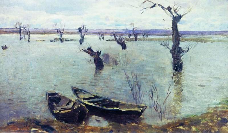 Разлив. 1887. Исаак Ильич Левитан