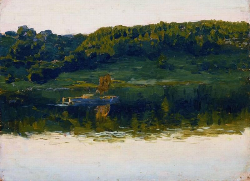 On the Volga. 1888. Isaac Ilyich Levitan
