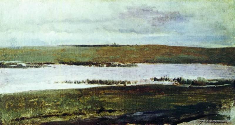 River. 1890. Isaac Ilyich Levitan