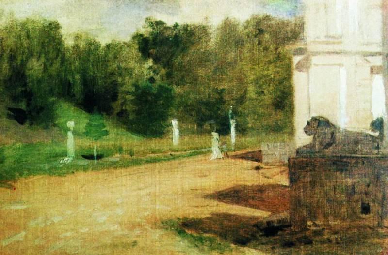 Ostankino. Beginning 1880. Isaac Ilyich Levitan