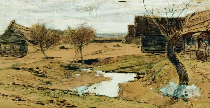 Spring has come. Isaac Ilyich Levitan