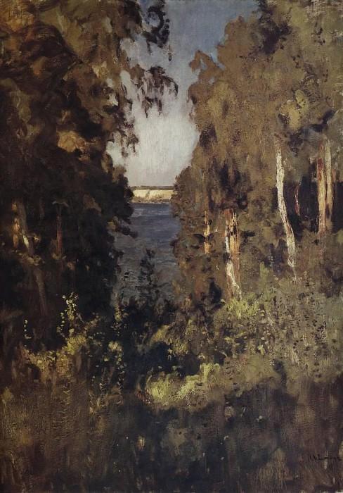 Ravine. 1898. Isaac Ilyich Levitan