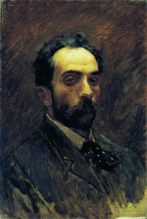 Self-portrait. 1890. Isaac Ilyich Levitan