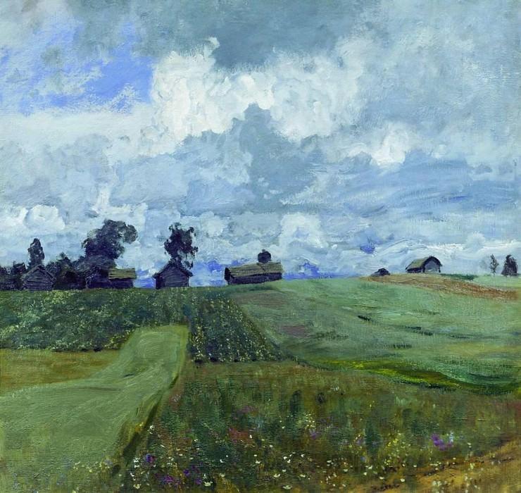 Stormy day. 1897. Isaac Ilyich Levitan