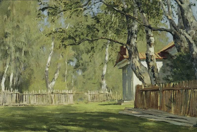 Sunny day. 1898. Isaac Ilyich Levitan