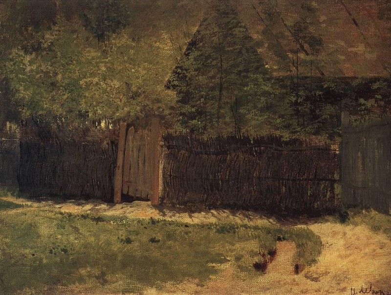 First greens. May 1. 1883. Isaac Ilyich Levitan