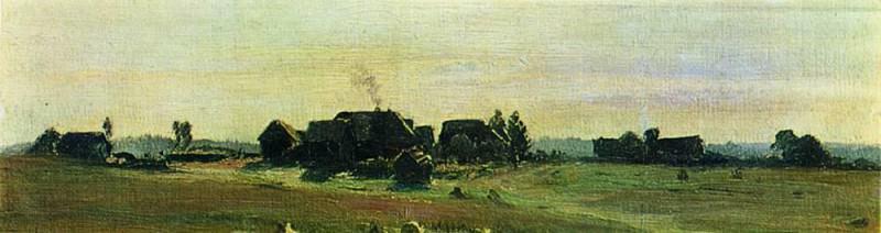 Village. 1888. Isaac Ilyich Levitan