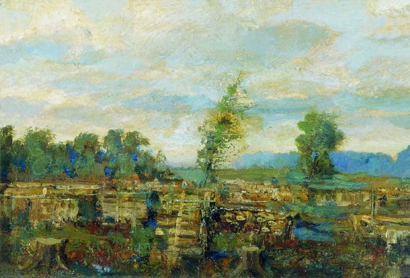 Осенний пейзаж2. Исаак Ильич Левитан