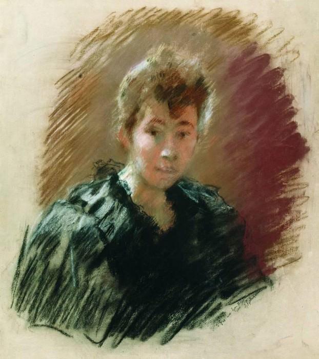 Портрет С. П. Кувшинниковой. 1894. Исаак Ильич Левитан