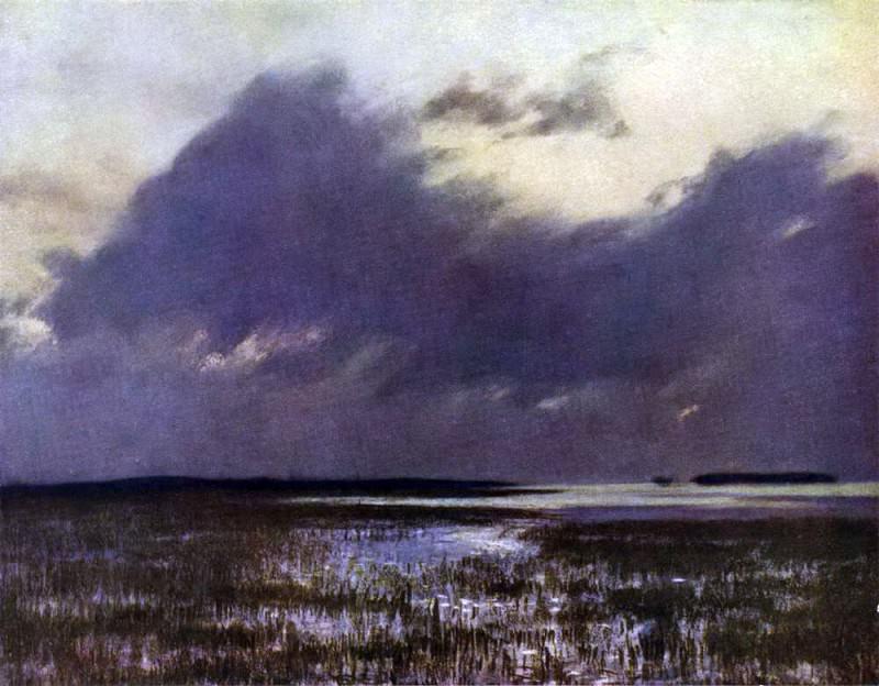 spill. 1895. Isaac Ilyich Levitan